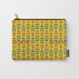 Sea for fun (yellow) Carry-All Pouch