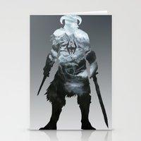 skyrim Stationery Cards featuring Skyrim by Ioana Muresan