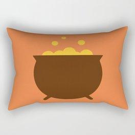 Witch cauldron Rectangular Pillow