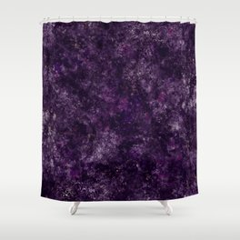 Purple Garden Shower Curtain