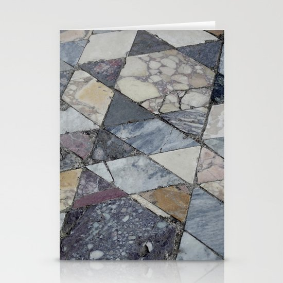 floor post volcano Stationery Cards