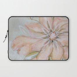 Pink Flower Art Laptop Sleeve