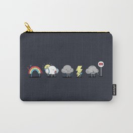 There's always rainbow after the rain Carry-All Pouch