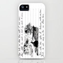 90's Sonnet iPhone Case