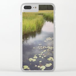 Quiet moment Clear iPhone Case