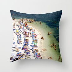 ITALIAN SUMMER Throw Pillow