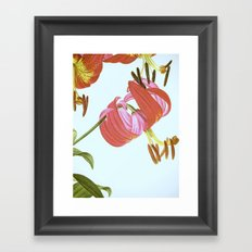 I. Vintage Flowers Botanical Print by Pierre-Joseph Redouté - Lilies Framed Art Print