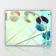 Blue Carousel Laptop & iPad Skin