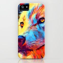 Wolf Portrait 3 iPhone Case