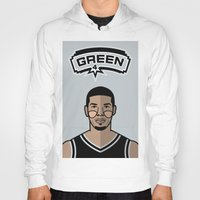 danny haas Hoodies featuring Danny Green by Will Wild