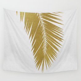 Palm Leaf Gold I Wall Tapestry