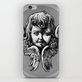 Cherub Face | Angel | Vintage cherub | Vintage angel | Angel decor iPhone Skin