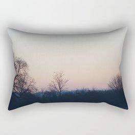 Sunset over Bedfordshire Rectangular Pillow