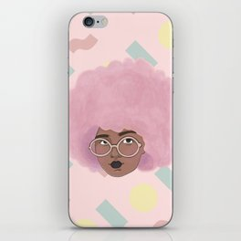 Bubblegum Girl iPhone Skin
