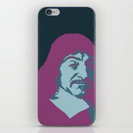 Rene Descartes iPhone Skin