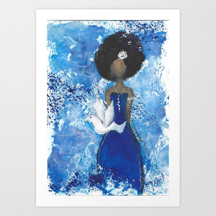 Zeta Angel Art Print
