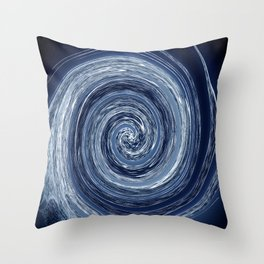 thoughts go round Throw Pillow