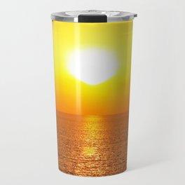 marine sunset Travel Mug