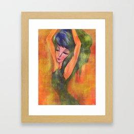 Dancing in Light Framed Art Print