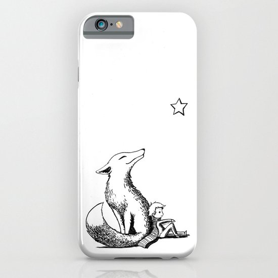 Prince and the Fox iPhone & iPod Case