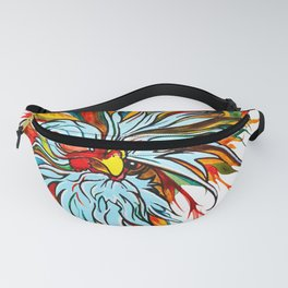 Polish Chicken named Smitty by RobiniArt! Fanny Pack