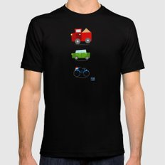 Cars SMALL Black Mens Fitted Tee