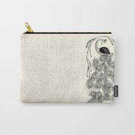 Jungle Peacock Carry-All Pouch