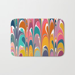 Colorful Abstract Design 12 Bath Mat