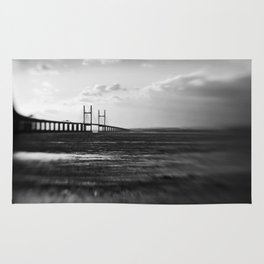 Severn Crossing Lensbaby 01 - Severn Beach Rug