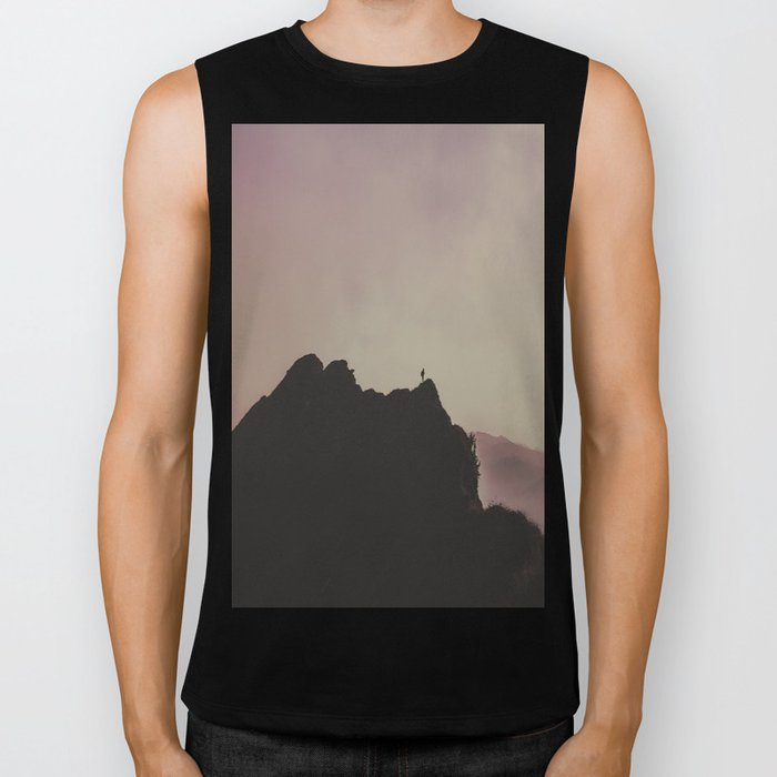 Ring of Sunsets - landscape photography Biker Tank