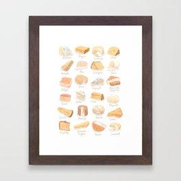 Cheese Revamp Framed Art Print