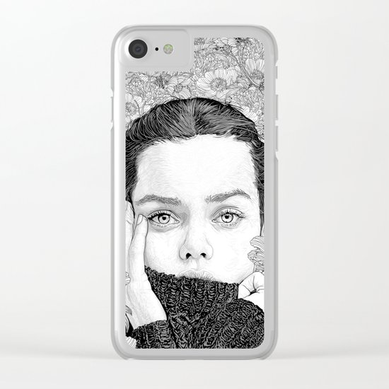 Personal Space Clear iPhone Case