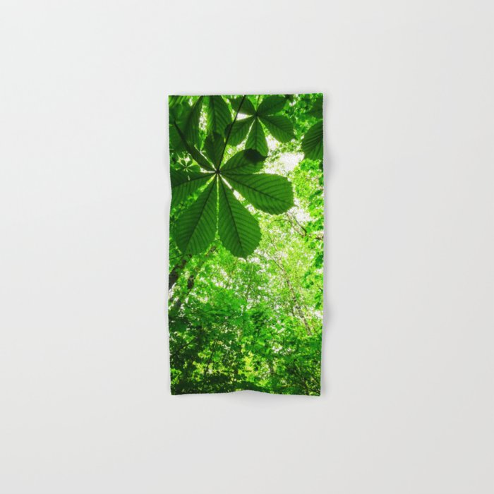 Rainforest Radiance Hand & Bath Towel