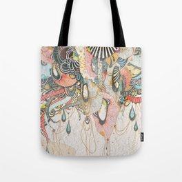 Mind-drawing Doodling Art Tote Bag