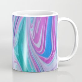 Abstract Pink and blue painting Coffee Mug