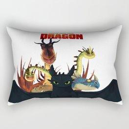 Dragons of Berk Rectangular Pillow