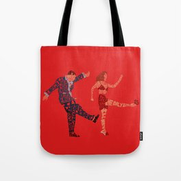 I'll never tell typography Tote Bag