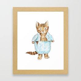 Tom Kitten Peter Rabbit  Beatrix Potter Framed Art Print