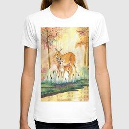 Mom and Little Deer T-shirt