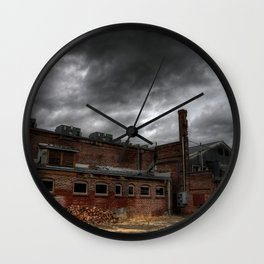 Behind the Old Theatre Wall Clock