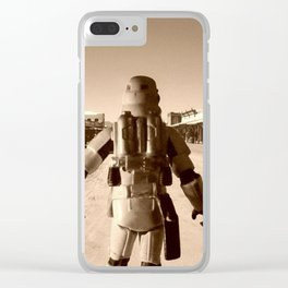 Old west Clear iPhone Case