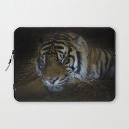 Sleeping tiger painterly Laptop Sleeve
