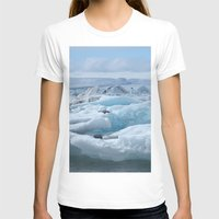 iceland T-shirts featuring Jökulsarlon Iceland by seraphina