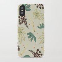 leaf iPhone & iPod Cases featuring leaf by Ceren Aksu Dikenci