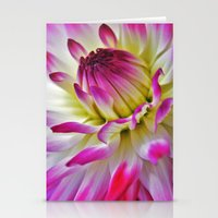 dahlia Stationery Cards featuring Dahlia by Astrid Ewing
