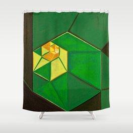 "South (""Elementals"" series) Shower Curtain"