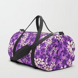Ultra Violet Spring Duffle Bag