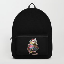 Alice, Cat and Hat Backpack