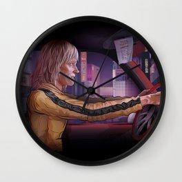 Beatrix Kiddo Wall Clock