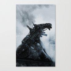 The Iron Man Canvas Print